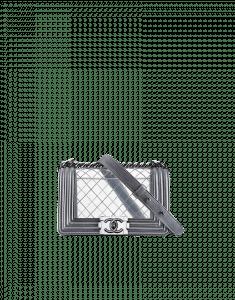 Chanel Clear PVC Boy Flap Bag - Cruise 2014