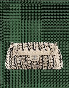 Chanel Fancy Crochet Accordian Bag - Cruise 2014