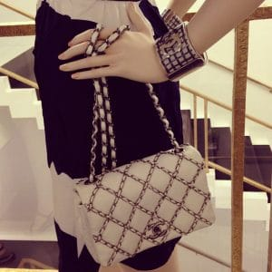 Chanel Flap Bag with Interchains Woven - Spring Summer 2014