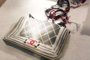Chanel Grafitti Canvas Flap Bag - Spring Summer 2014