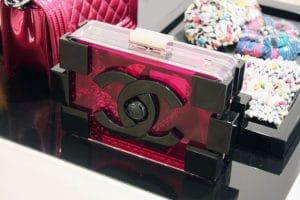 Chanel Lego Pink Transparent Clutch - Spring Summer 2014