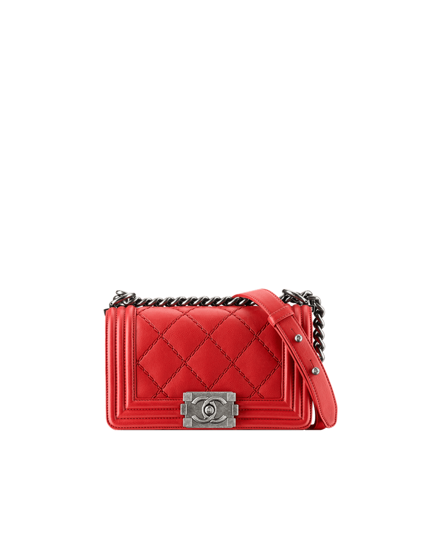 chanel bag 2014 red