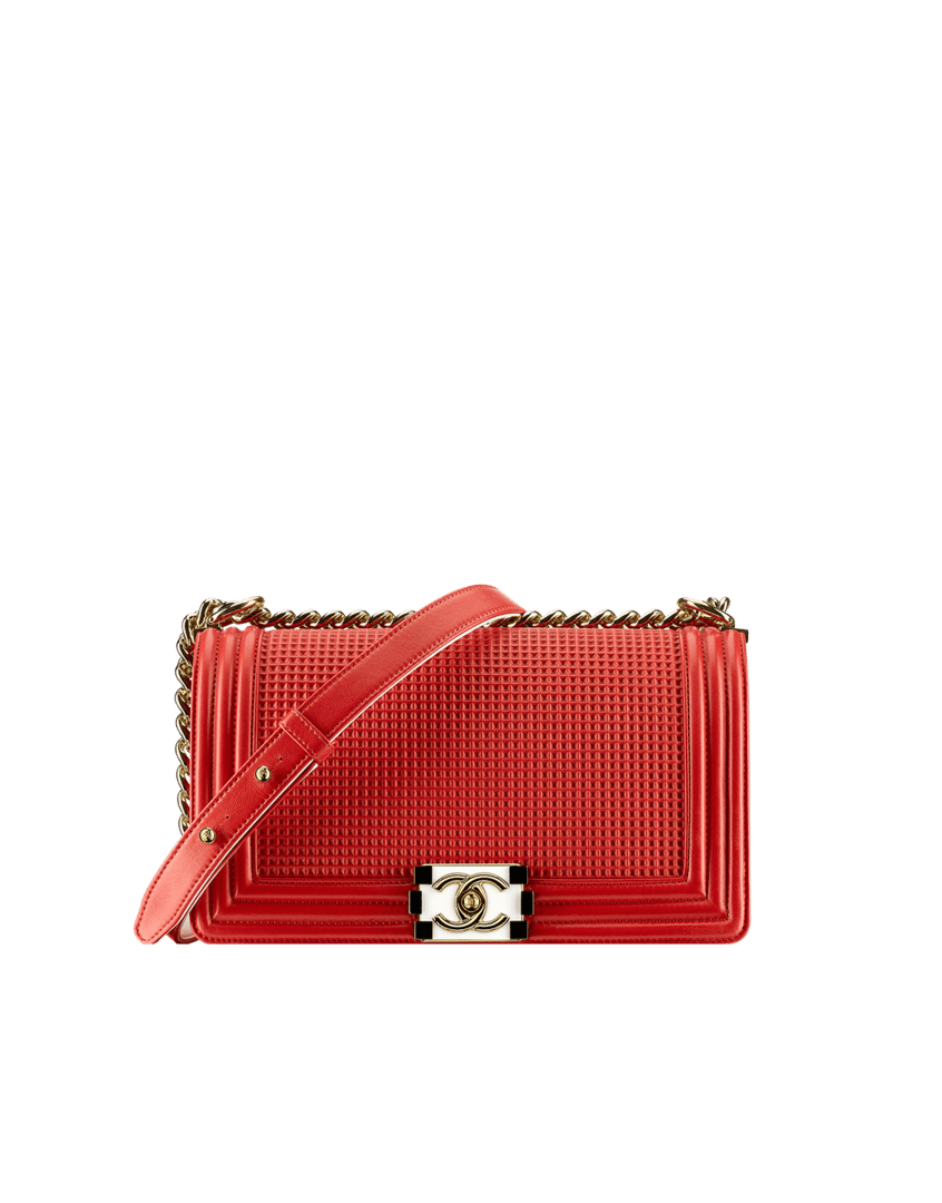 Chanel Cruise 2014 Bag Collection Reference Guide ... Chanel Boy Bag Red 2013