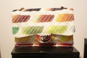 Chanel Watercolor Flap Bag - Spring Summer 2014