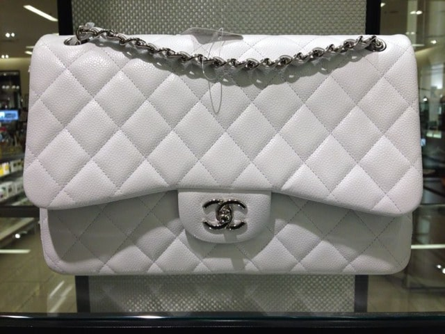Chanel Cruise 2014 Classic Flap Bag Color Reference Guide  c2a4f1a2c74b4
