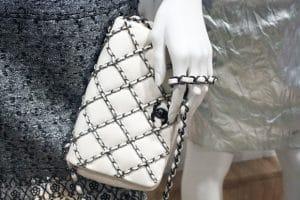 Chanel White Multi Chain Flap Bag - Spring Summer 2014