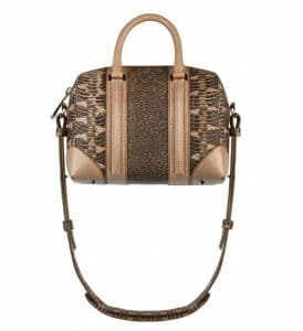 Givenchy Ayers/Tejus/Old Pink Lizard Lucrezia Mini Bag - Spring Summer 2014 Collection
