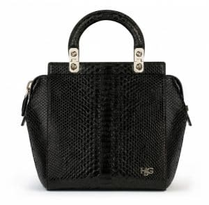Givenchy Black Python HDG Small Bag - Spring Summer 2014 Collection