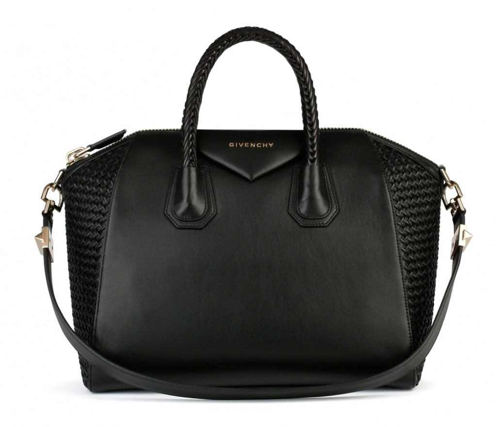 2928c4bc32 Givenchy Black Smooth Woven Antigona Medium Bag - Spring Summer 2014  Collection.  3