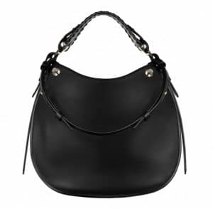 Givenchy Black with Metal Studs Obsedia Medium Bag - Spring Summer 2014 Collection
