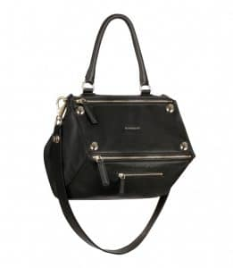 Givenchy Black with Metal Studs Pandora Medium Bag - Spring Summer 2014 Collection