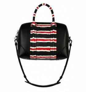 Givenchy Black/Red/White Lucrezia Medium Bag - Spring Summer 2014 Collection