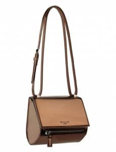 Givenchy Bronze Mirrored Pandora Box Mini Bag - Spring Summer 2014 Collection