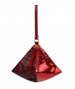 Givenchy Carmine Sequined Pyramidal Clutch Bag - Spring Summer 2014 Collection