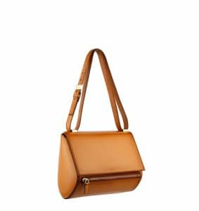 Givenchy Light Beige Camel Pandora Box Mini Bag- Spring Summer 2014 Collection