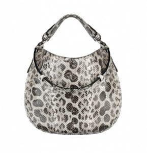 Givenchy Natural Anaconda Obsedia Medium Bag - Spring Summer 2014 Collection