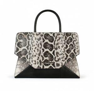 Givenchy Natural Anaconda/Tejus/Black Lizard New Obsedia Medium Bag - Spring Summer 2014 Collection