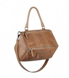 Givenchy Old Pink Python Pandora Medium Bag - Spring Summer 2014 Collection