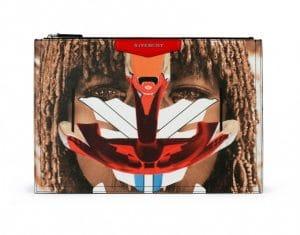 Givenchy Tribal Girl Double-Sided Print Antigona Clutch Medium Bag - Spring Summer 2014 Collection