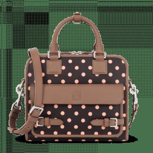 Loewe Brown/Mink Cruz with Dots Bag