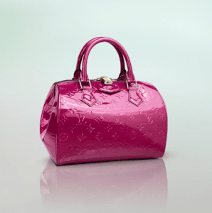 Louis Vuitton Monogram Vernis Indian Rose Montana Bag
