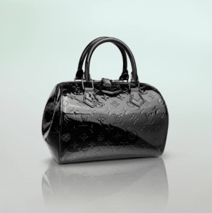 Louis Vuitton Monogram Vernis Noir Magnetique Montana Bag