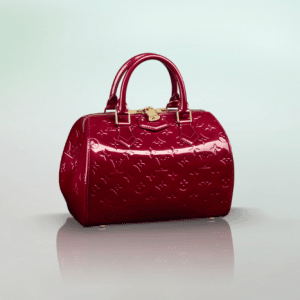 Louis Vuitton Monogram Vernis Pomme D'Amour Montana Bag