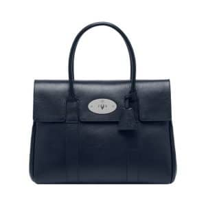 Mulberry Midnight Blue Shiny Goat Bayswater Bag
