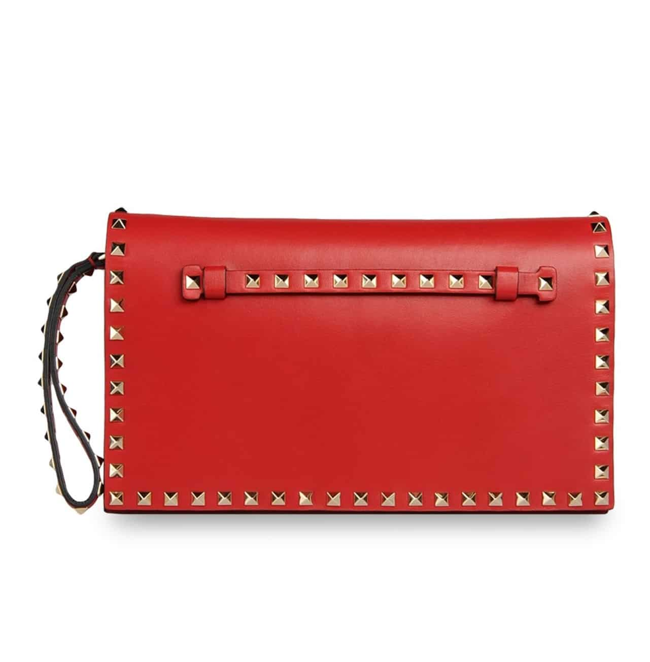 RED Valentino Studded clutch bag XXfKgDR