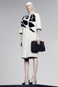 Bottega Veneta Black Intrecciato Flap Bag - Pre-Fall 2014