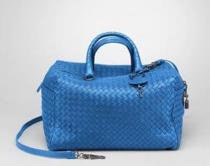 Bottega Veneta Electrique Intrecciato Nappa Top Handle Bag