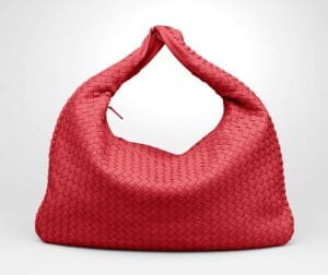 Bottega Veneta Fraise Intrecciato Nappa Veneta Large Bag