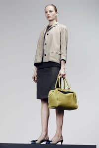 Bottega Veneta Green Brera Bag - Pre-Fall 2014