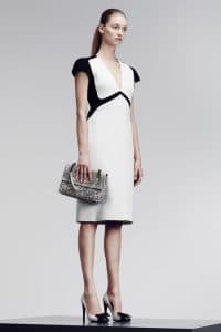 Bottega Veneta Grey Intrecciato Flap Bag - Pre-Fall 2014