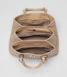 Bottega Veneta Intrecciato Roma Small Bag 2