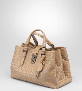 Bottega Veneta Intrecciato Roma Small Bag