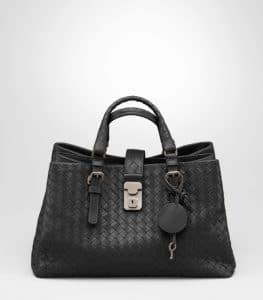 Bottega Veneta Prusse Intrecciato Roma Small Bag