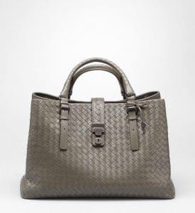 Bottega Veneta Shadow Intrecciato Roma Bag