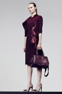 Bottega Veneta Violet Duffle Bag - Pre-Fall 2014