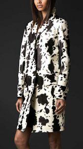 Burberry Prorsum Splatter Coat - Fall Winter 2013