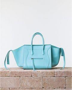 Celine Azur Blue Phantom Luggage Bag - Summer 2014