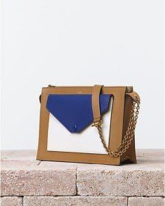 Celine Beige Pocket Handbag - Summer 2014