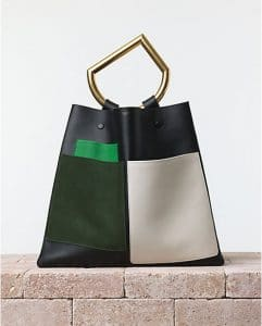 Celine Black Geometrical Bag - Summer 2014