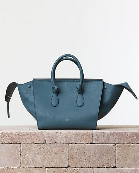 hard to find handbags - Celine Tie Tote Bag Reference Guide | Spotted Fashion