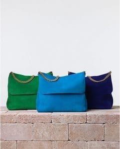 Celine Gourmette Suede Shoulder Bag - Summer 2014