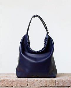 Celine Navy Drawstring Cabas Bag - Summer 2014
