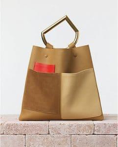 Celine Nutmeg Geometrical Bag - Summer 2014