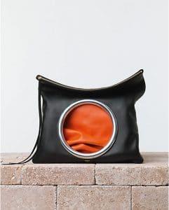 Celine Orange Eyelet Pouch Bag - summer 2014