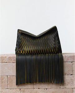 Celine Tassel Laser Cut Clutch Bag - Summer 2014