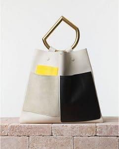 Celine White Geometrical Bag - Summer 2014